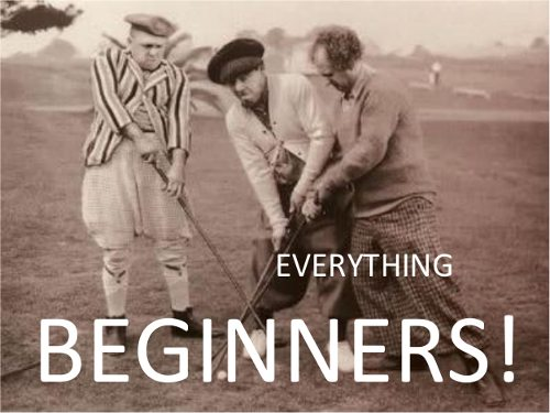 Beginners Golf