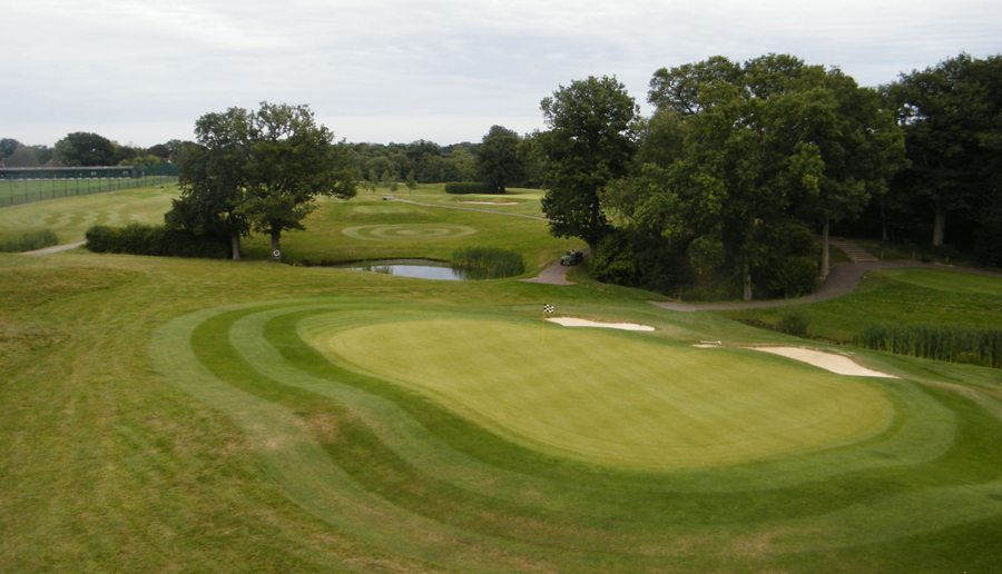 Burgess Hill Championship Short Course 4th Hole (Green View)