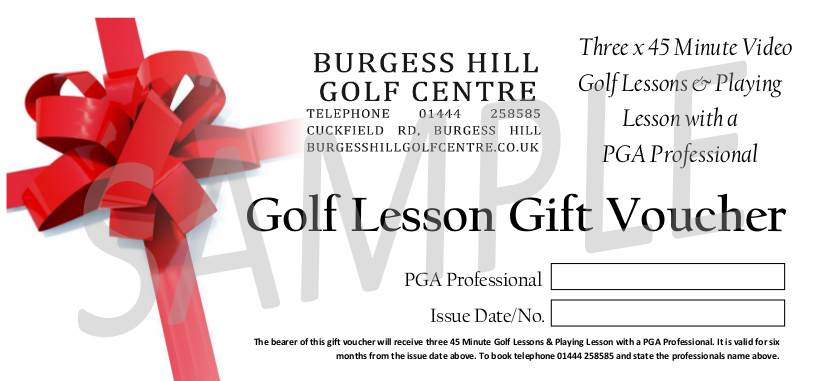 how to give a golf playing lesson
