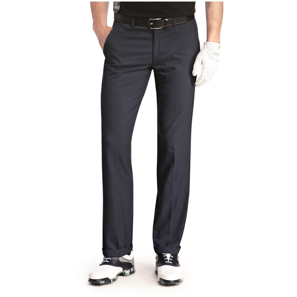 Hugo Boss Hakan 7 Trouser Dark Blue Front