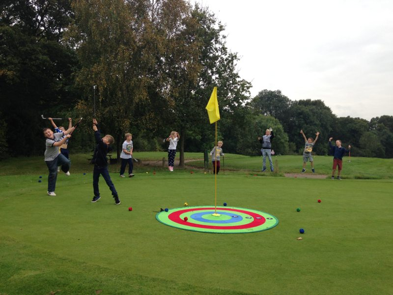 Junior lessons at Burgess Hill Golf Centre
