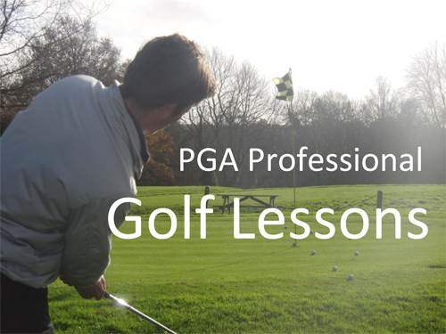 Professional Golf Lessons at Burgess Hill