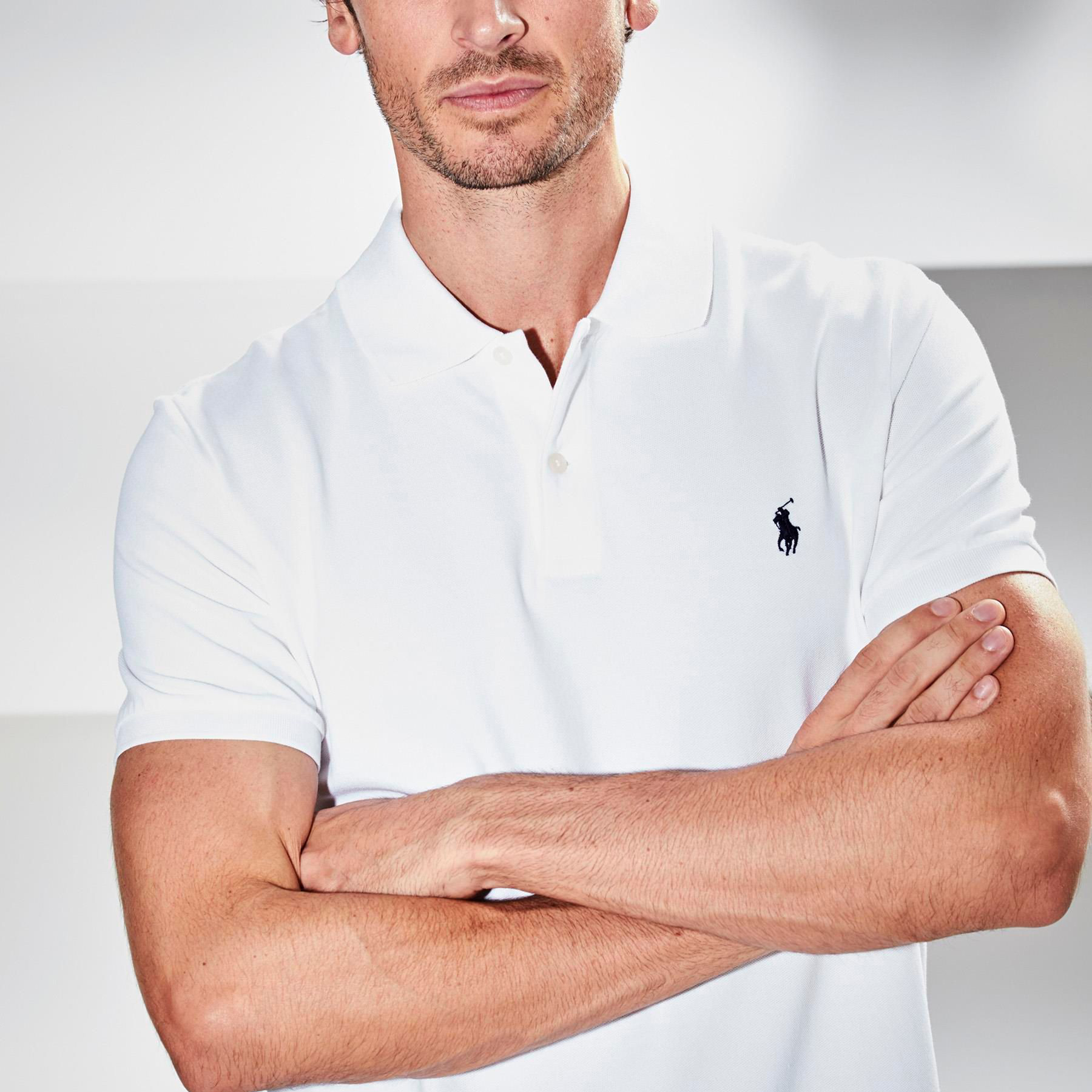 RL Polo White