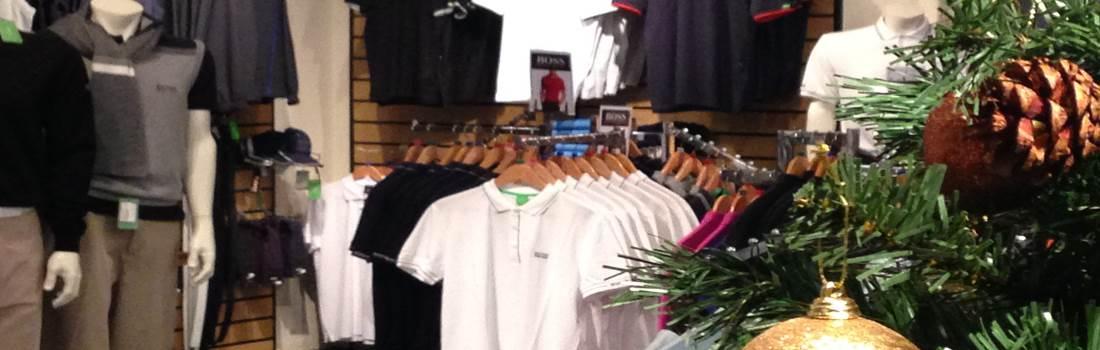 The Golf Shop at Christmas Header