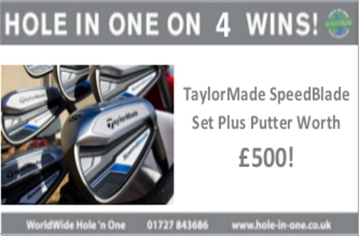 Win a Set of Clubs and Putter worth £500