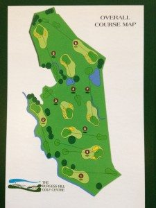 Burgess Hill Golf Course Map
